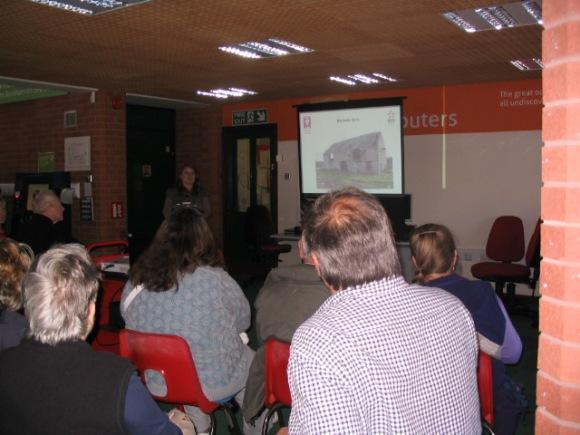Talk at Burnham-on-Sea library