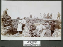 Discovery of the Roman coin (SANHS)