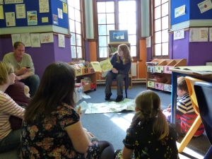 Bridgwater library storytime 2