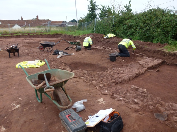 Roman Villa on the Cannington by-pass