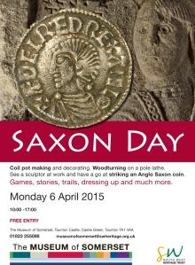 Saxon Poster