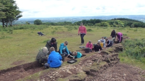 Community excavation at Cothelstone Hill