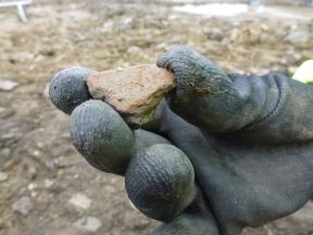 Bronze Age pottery sherd