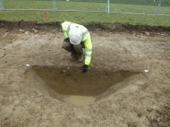 Pit on site 7